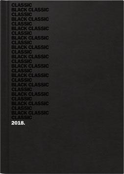 Modell 795 14,5x20,6cm Balacron-Einband Schwarz - Brunnen Buchkalender 2022