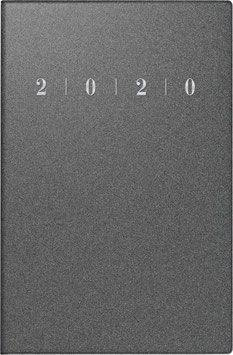 Industrie I 7,2x11,2cm Kunststoff-Einband Reflection Anthrazit Modell 11003 - Rido Taschenkalender 2021