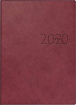 Technik I 10x14cm Kunstleder-Einband Bordeaux Modell 18125 - Rido Taschenkalender 2021