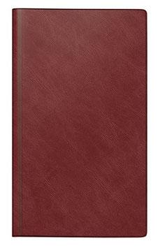 Rido reise-merker 11,3x19,5cm Schaumfolien-Einband Catana Bordeaux Modell 25012 - Rido Buchkalender 2022