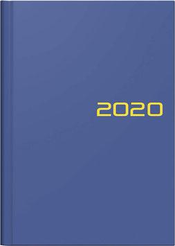 Modell 796 14,8x20,5cm Balacron-Einband Blau -Brunnen Buchkalender 2021
