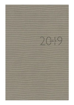 Technik I 10x14cm Kunstleder-Einband Tejo Grau Modell 18126 - Rido Taschenkalender 2021
