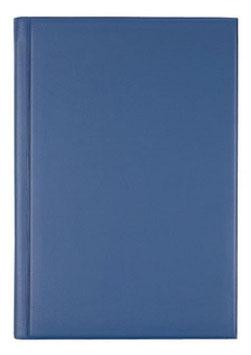 Ultraplan 19x27,5cm Kunststoff-Einband Blau Modell 22002 - Rido Buchkalender immerwährend