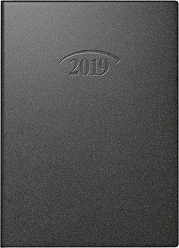 Modell 736 10x14cm Kunststoff-Einband Artistico Schwarz - Brunnen Taschenkalender 2022