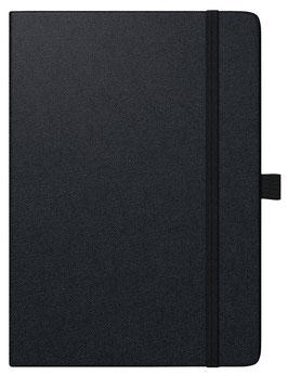 Modell 796 14,8x21cm Kompagnon Balacron-Einband Schwarz - Brunnen Buchkalender 2022