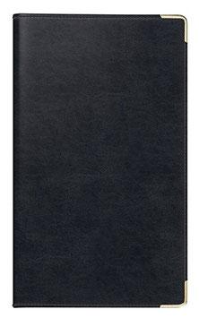 Taschenplaner int. 8,7x15,3cm Kunstleder-Einband Belnova Schwarz Modell 17809 - Rido Taschenkalender 2022