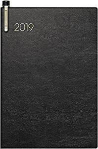 Modell 723 7,6x11,2cm Soft-Einband Schwarz - Brunnen Taschenkalender 2021