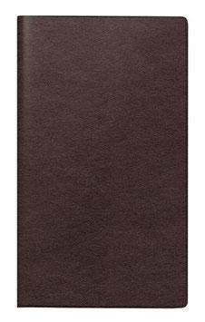 Miniplaner D15 8,7x15,3cm Leder-Einband Bordeaux Modell 45428 - Rido Taschenkalender 2020