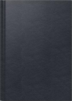 Modell 795 14,5x20,6cm Leder-Einband Schwarz - Brunnen Buchkalender 2021