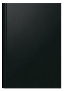 Ultraplan 19x27,5cm Kunststoff-Einband Schwarz Modell 22002 - Rido Buchkalender immerwährend