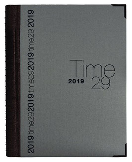Time 29 A4 21x29,7cm Stoff Grau - Exacompta Kalender 2021
