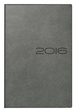 Technik II 10x14cm Kunstleder-Einband Derby Grau Modell 18225 - Rido Taschenkalender 2021