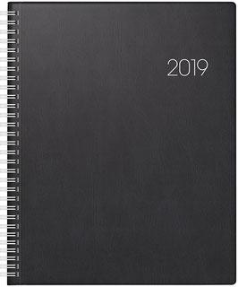 Modell 796 14,8x20,5cm Karton-Einband Schwarz - Brunnen Buchkalender 2021