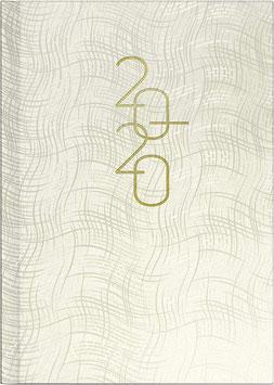 Futura 2 14,8x20,8cm Kunststoff-Einband Weiß Modell 21033 - Rido Buchkalender 2021
