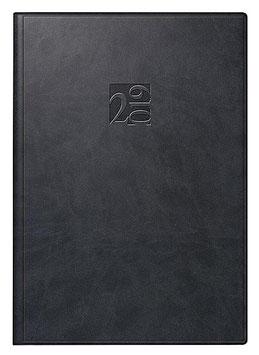 Studioplan int. 16,8x24cm Kunstleder-Einband West Modell 23005 - Rido Buchkalender 2020