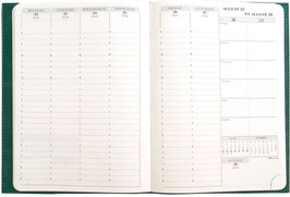 Visuel 15x21cm Kalender-Einlage - Exacompta Kalender 2022