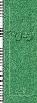 Modell 782 10x29,7cm Karton-Einband Grün - Brunnen Vormerkbuch 2021