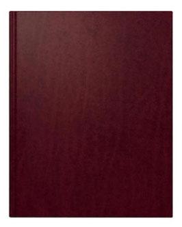 Manakalender TM 20,5x26cm Leder-Einband Toscana Weinrot Modell 24008 - Rido Buchkalender 2020