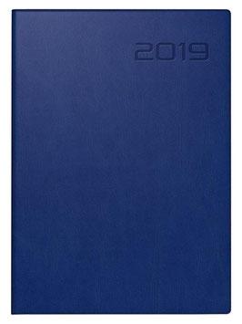 Technik III 10x14cm Kunstleder-Einband Blau Modell 18244 - Rido Taschenkalender 2022