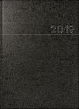 Modell 787 21x29,7cm Schaumfolien-Einband Schwarz - Brunnen Buchkalender 2022