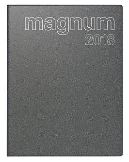 Magnum 18,3x24cm Kunststoff-Einband Reflection Grau Modell 27083 - Rido Buchkalender 2022