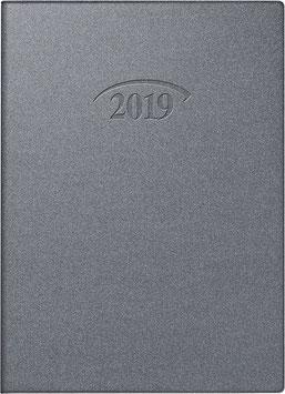 Modell 736 10x14cm Kunststoff-Einband Artistico Silber - Brunnen Taschenkalender 2021