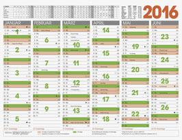 Tafelkalender 65x50cm quer Modell 70122 - Brunnen Tischkalender 2021 (5 Stück)