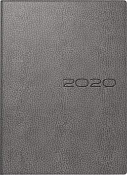 Industrie I 7,2x11,2cm Kunstleder-Einband Derby Grau Modell 16025 - Rido Taschenkalender 2021