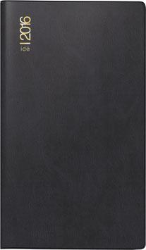 Gilet-Planer 7x11,8cm Kunststoff-Einband Schwarz Modell 45002 - Rido Taschenkalender 2022