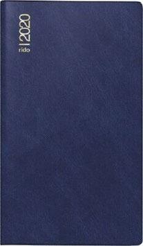 D15 8,7x15,7cm Schaumfolien-Einband Catana Blau Modell 45432 - Rido Taschenkalender 2022