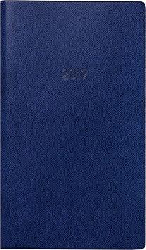 Modell 755 8,7x5,3cm Kunststoff-Einband Blau - Brunnen Taschenkalender 2022