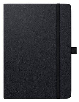 Modell 736 10x14cm Kompagnon Baladek-Einband Schwarz - Brunnen Taschenkalender 2021