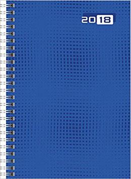 Futura 2 14,8x20,8cm Grafik-Einband Blau Modell 21007 - Rido Buchkalender 2020