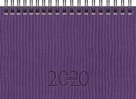 TM 17 8,7x15,3cm Kunstleder-Einband Tejo Violett Modell 12236 - Rido Taschenkalender 2021