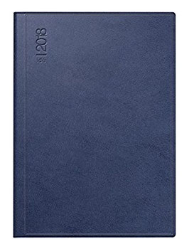 Technik I 10x14cm Kunstleder-Einband Skivertex Blau Modell 18093 - Rido Taschenkalender 2020