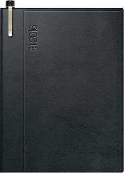 Industrie I 7,2x11,2cm Kunststoff-Einband Skivertex Schwarz Modell 16183 - Rido Taschenkalender 2021