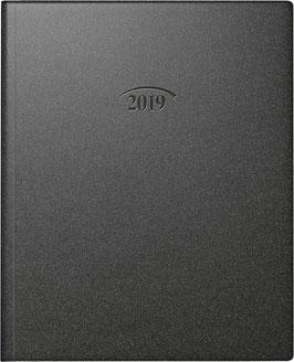 Manager Modell 761 21x26cm Kunststoff-Einband Artistico Schwarz - Brunnen Buchkalender 2022