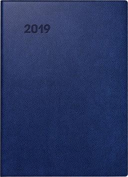Modell 731 10x14cm Kunststoff-Einband Blau - Brunnen Taschenkalender 2021