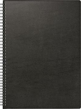 Modell 781 21x29,7cm Kunststoff-Einband Schwarz - Brunnen Buchkalender 2022