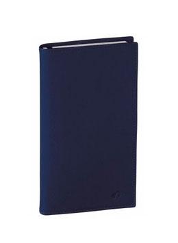 Prenote A4 21x29,7cm Montebello Marineblau - Quo Vadis Kalender 2022