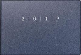 Septimus 15,2x10,2cm Kunststoff-Einband Reflection Blau Modell 17563 - Rido Taschenkalender 2022