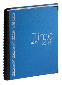 Time 29 A4 21x29,7cm - Stoff Blau - Exacompta Kalender 2022