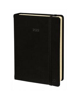 Note 24 16x24cm Silk Schwarz - Quo Vadis Kalender 2022