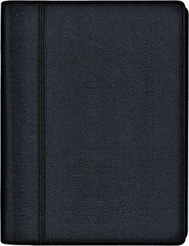 Futura 2 14,8x20,8cm Kunstleder-Einband Schwarz Modell 21035 - Rido Buchkalender 2021