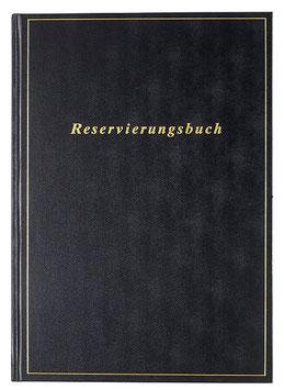 Reservierungsbuch 21x29,7cm Balacron-Einband Schwarz Modell 27403 - Rido Buchkalender 2020