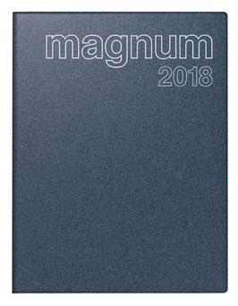 Magnum 18,3x24cm Kunststoff-Einband Reflection Blau Modell 27083 - Rido Buchkalender 2021