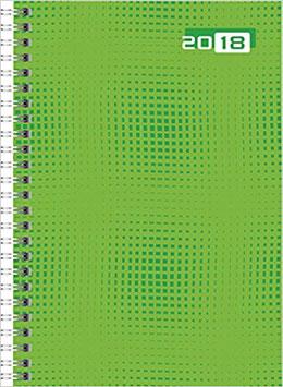 Futura 2 14,8x20,8cm Grafik-Einband Grün Modell 21007 - Rido Buchkaledner 2022