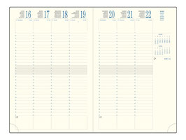 Eurotime 29 21x29,7cm Volga Havanna - Excacompta Kalender 2021