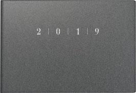 Septimus 15,2x10,2cm Kunststoff-Einband Reflection Grau Modell 17563 - Rido Taschenkalender 2022