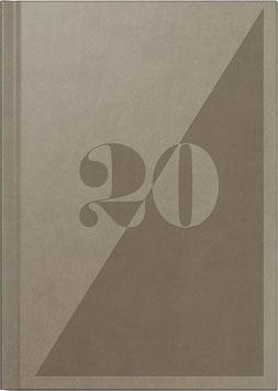 Mentor 14,5x20,6cm Kunstleder-Einband Braun Modell 26026 - Rido Buchkalender 2022